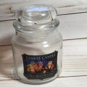 Yankee Candle Halloween All Hallows Eve  Empty Jar